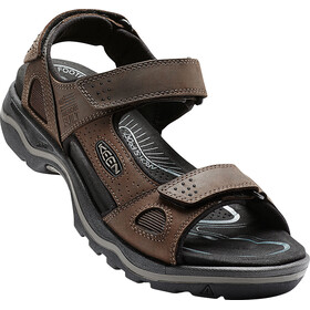 Keen Rialto 3 Point Sandals Men Dark Earth/Black